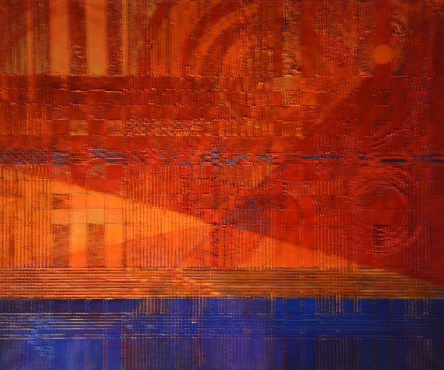 Korulska Bożena, Rabato olej na płótnie 100x120 cm.