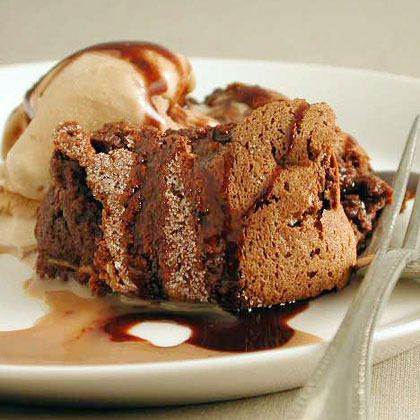 Hot Chocolate Souffle by Cooking Light | Chocolate Chocolate~ | Pinte ...