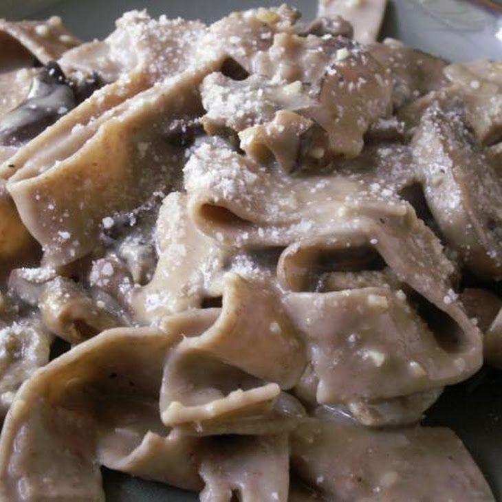 Mushroom Marsala Pappardelle | Recipes | Pinterest