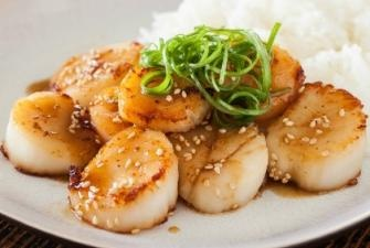 Scallops w Mustard-Miso Sauce | Recipes - some favs & some to try | P ...