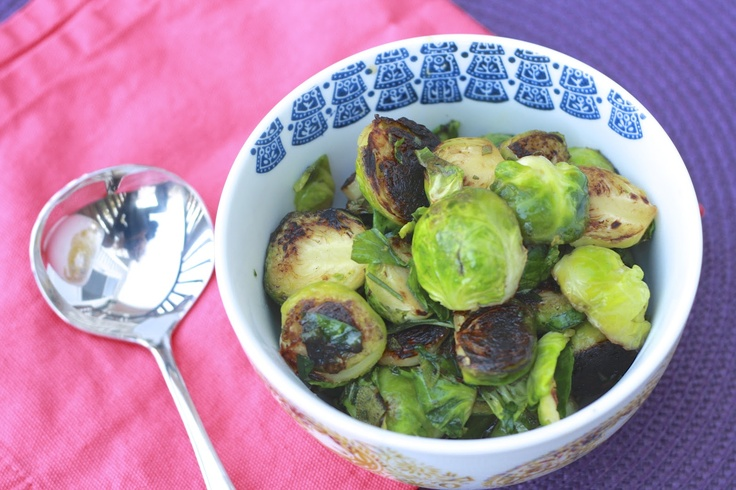Brussel Sprouts with Maple Syrup | Gobble Gobble | Pinterest