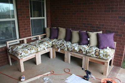 Build your own patio furniture Home Decor