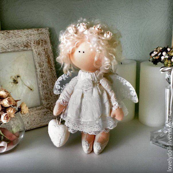 Ангел текстильный своими руками 99