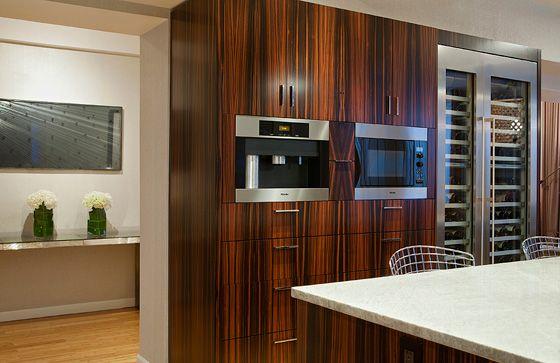 Macassar ebony cabinet  Restaurant  Bar Kitchen  Pinterest