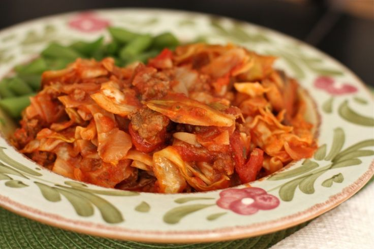 Stuffed Cabbage Casserole A deconstructed version of stuffed cabbage ...