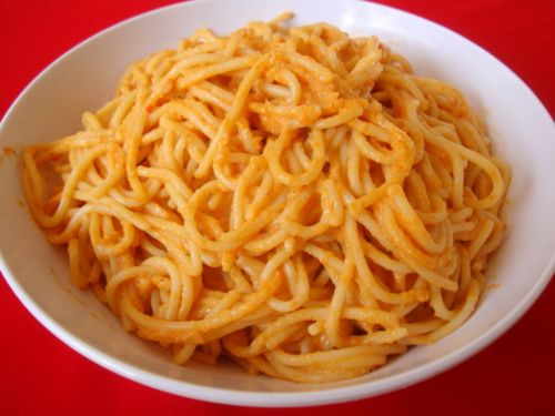 Roasted Red Bell Pepper Pesto Pasta | Yummy | Pinterest