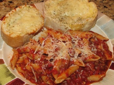 Penne Pasta with Meat Sauce | good eatin. | Pinterest