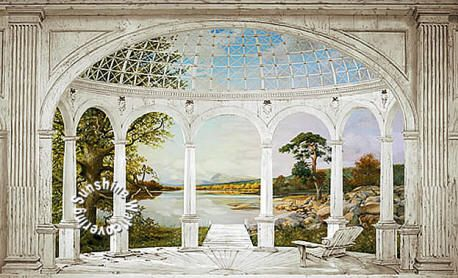 white arches mural ra0213m full size wall murals pinterest