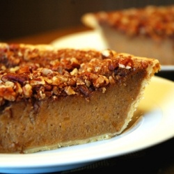 ... pie for any holiday celebration---Sweet Potato Pie with Pecan Streusel