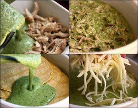 ... the Eyes: Cafe Tacuba-Style Creamy Chicken Enchiladas (Rick Bayless