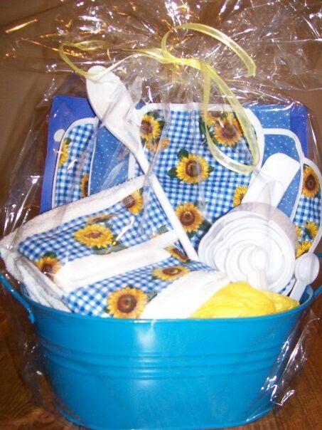 kitchen gift basket gift ideas pinterest