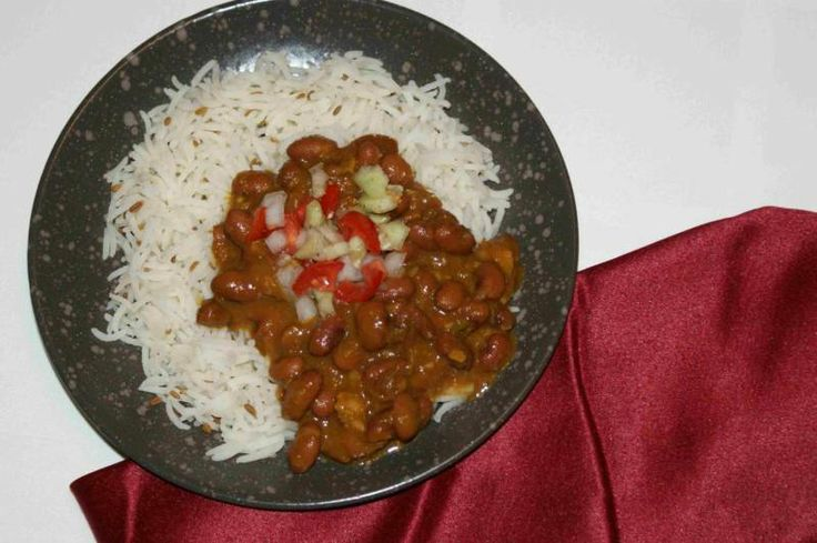 Red Kidney Bean Curry | Recipe