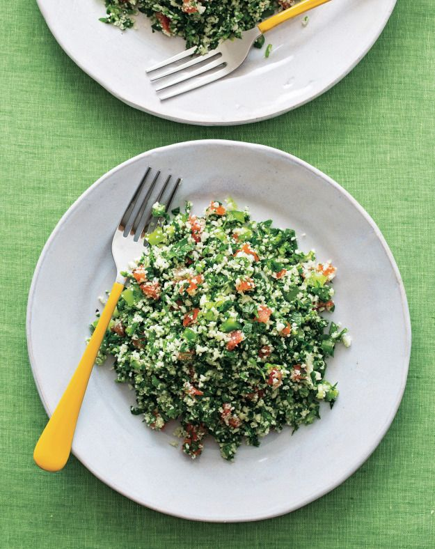 "Gluten free/Grain Free Tabbouleh Salad ""Just use riced cauliflower""..."