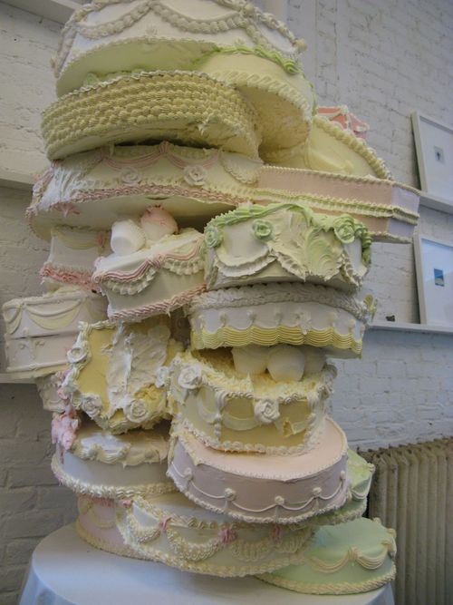 stacked cakes | cake, cookie, and cupcake decorating ideas | Pinterest