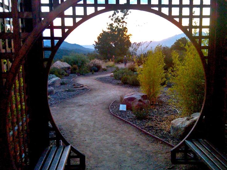 Zen garden in Ojai