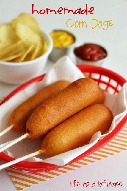 Homemade Easy Corn Dog!! | Easy recipes | Pinterest