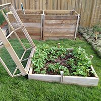 Raised Strawberry Beds How Does Your Garden Grow Pinterest