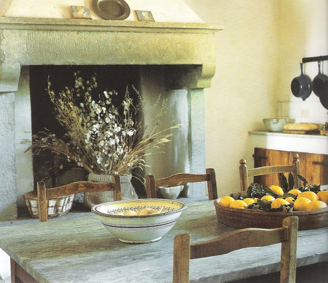 Kitchen Fireplaces