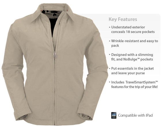 Women Travel Jacket with Pockets