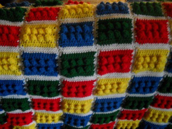 Crochet Lego Blanket : crochet lego blanket pattern free My Lego Blanket! I am in love