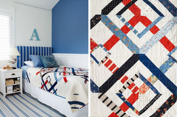 Squadron Quilt - In Little Bits Quilting Bee published by Chronicle