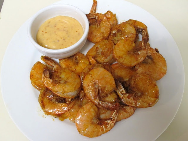 Spicy Shrimp with Sweet Chili Mayo | Food | Pinterest