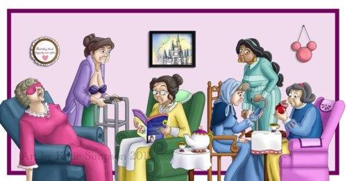 old Disney princesses