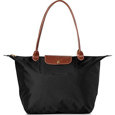 ... large | Le Pliage large shopper in black - LONGCHAMP - Shoulder bags