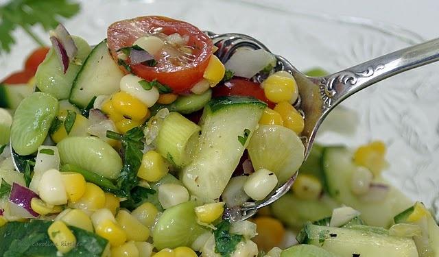 ... salad recipe yummly asian edamame salad with garbanzo and avocado