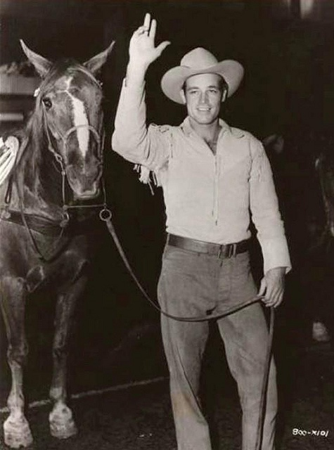 Rodeo appearance guy madison star of the syndicated tv series the