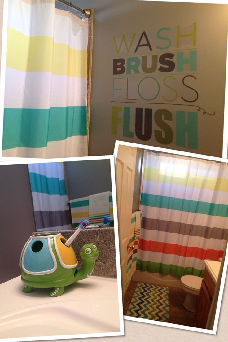 Curtains Ideas target kids shower curtain : Kids bathroom. *Everything at Target* | New home | Pinterest