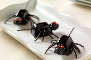 Jello creepy spiders | Food & Drink | Pinterest