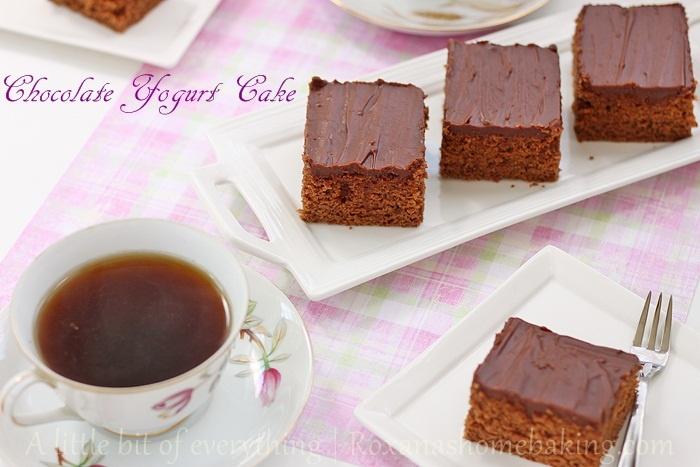 Chocolate Yogurt Cake healthified | Chocolate | Pinterest