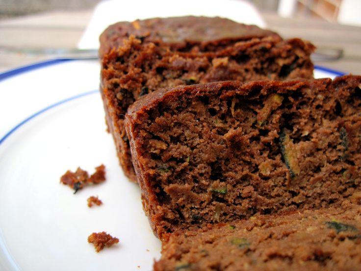 Moist Chocolate Zucchini Bread (nut free) | Recipe
