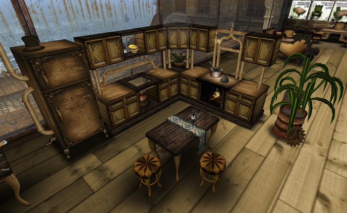 Steampunk kitchen cool steampunk ideas pinterest for Kitchen designs steampunk