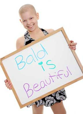 Someone made an excellent recommendation. She thinks they should make a Barbie with no hair so that every little girl fighting cancer can feel beautiful. Dress the Barbie in pink, name her HOPE & send all proceeds from sales to a Sick Children's Hospital. I think that is an awesome idea. Please post this if you agree, hopefully it will be seen by someone who can make a difference.