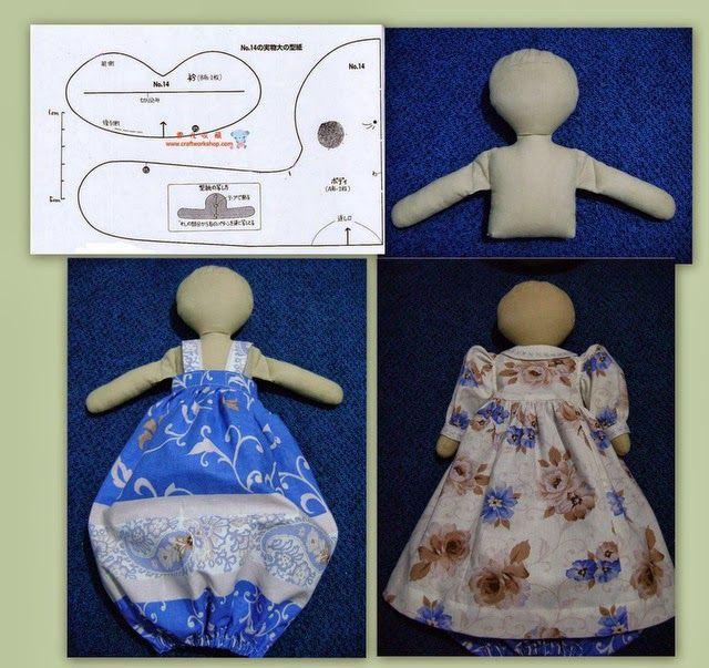 Кукла пакетница своими руками выкройки 25