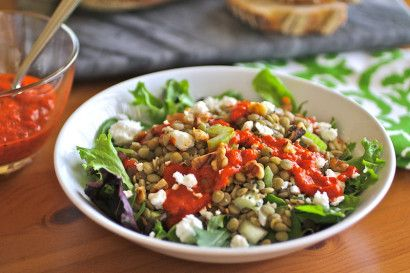 ... greek lentil soup with red greek lentil soup with red pepper and feta