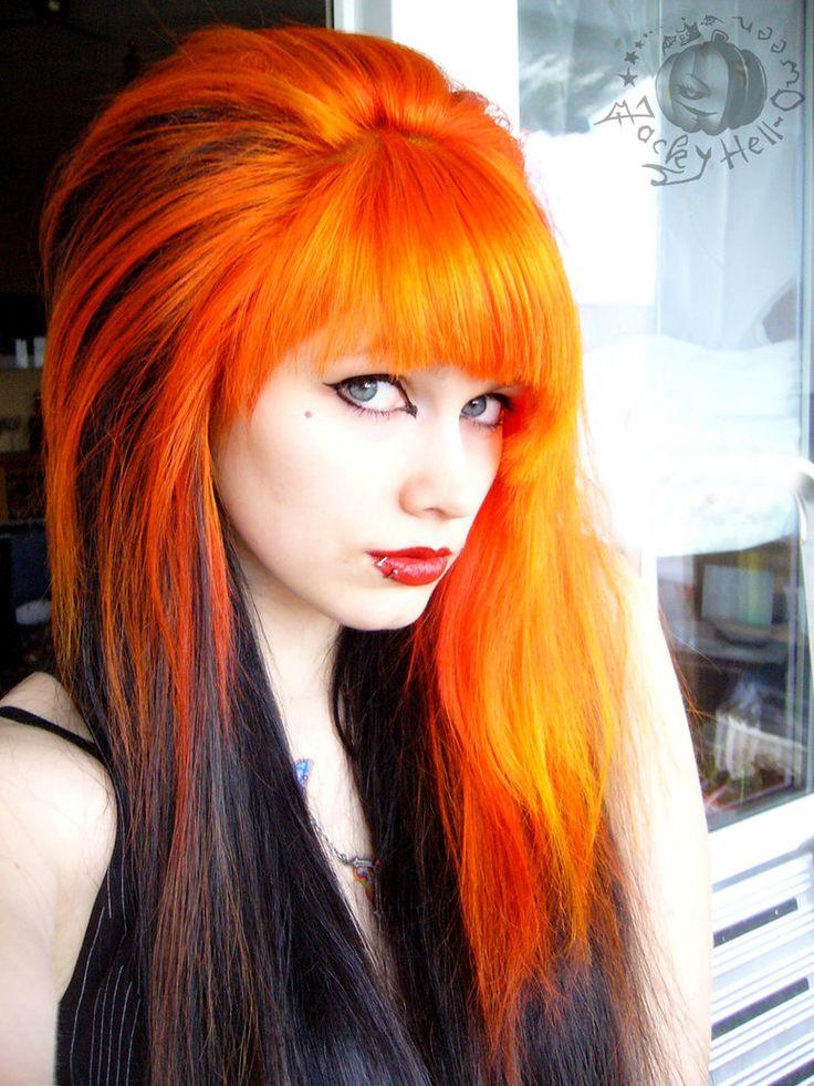 Фото девушек с крашенными рыжими волосами