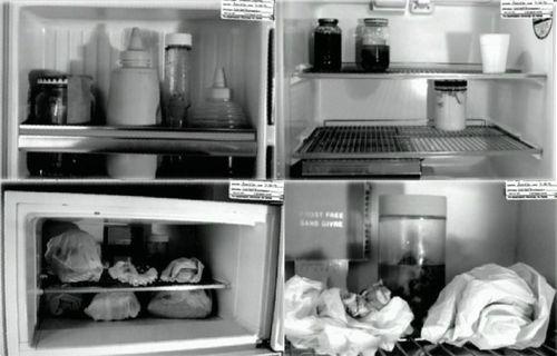 Jeffrey Dahmer Fridge The inside of jeffrey dahmer's