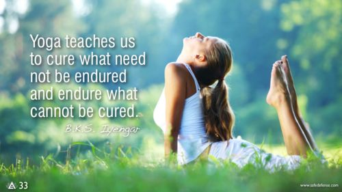 Yoga teaches us to cure what need not be endured and endure what cannot be cured. — B.K.S. Iyengar #yoga