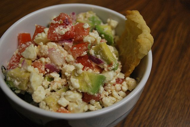 Avocado Feta Salsa | Healthy Side Dish/Snack/Appetizer Recipes and Id ...