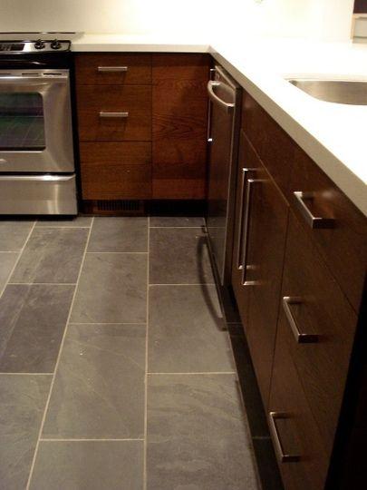 Kitchen Floor The Lake Home Pinterest
