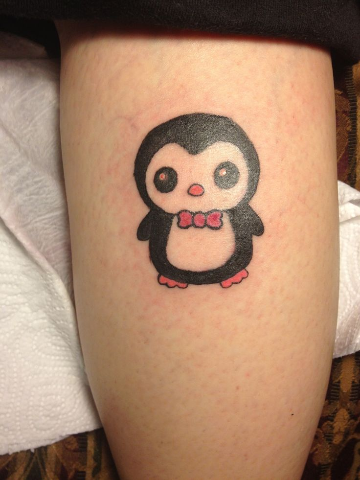 my tattoo pengy the penguin tattoos pinterest. Black Bedroom Furniture Sets. Home Design Ideas