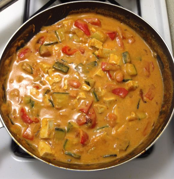 Thai Red Tofu Curry | Meatless | Pinterest