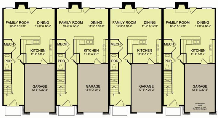 043h 0177 additionally 134 likewise 035g 0008 in addition 031m 0050 together with Bedroom Dimensions And Floor Plans. on 4 unit townhouse plans