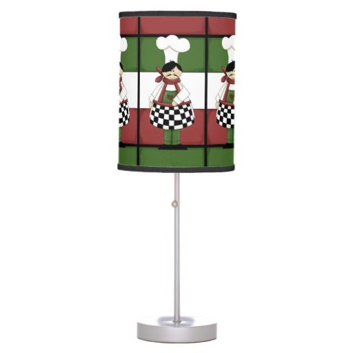 Italian chef kitchen table lamp for Table lamp in kitchen