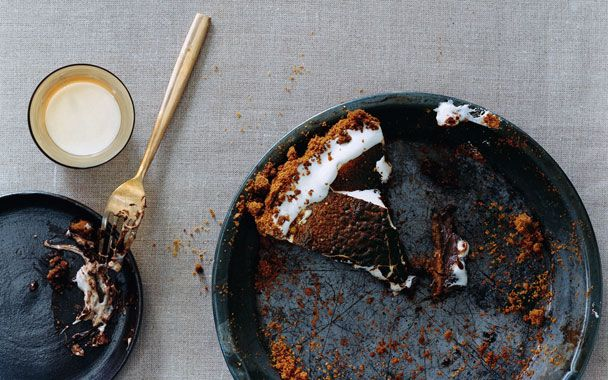... Salted Caramel ... this year it is S'mores - Chocolate S'More Pie