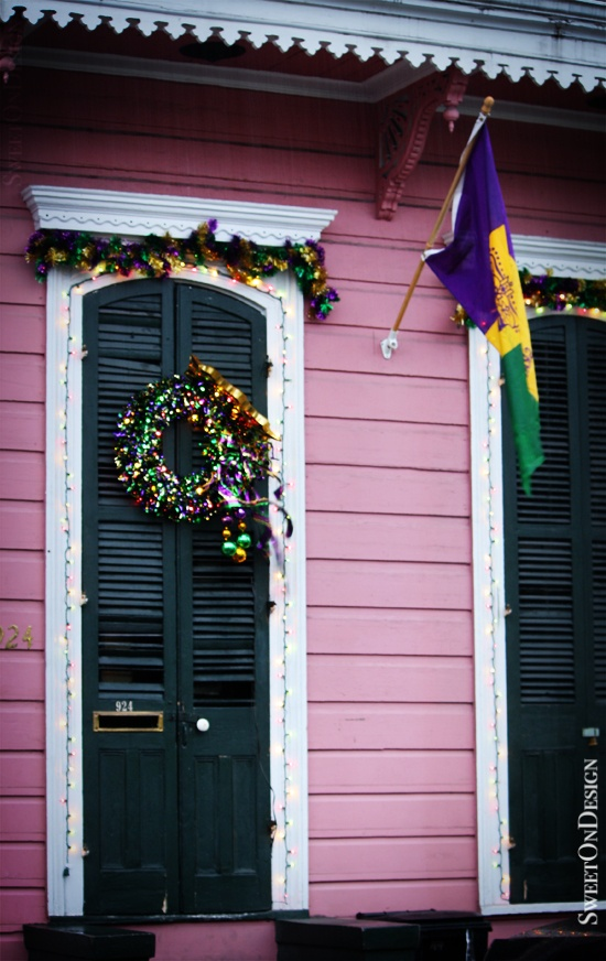 Mardi Gras Decor - New Orleans, LA