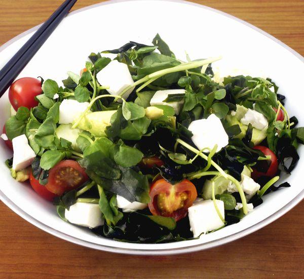 Wakame & Tofu Salad | #cooking | #japan |